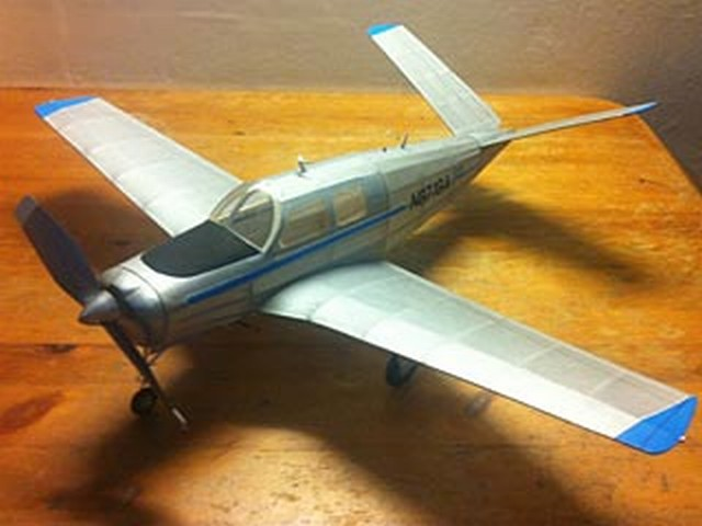Beechcraft Bonanza - completed model photo