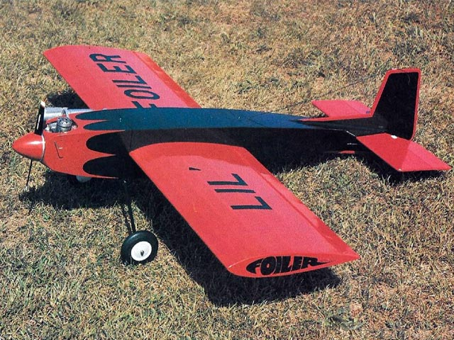 Lil Foiler (oz7441) by John Tanzer from Model Aviation 1992