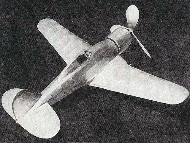 Fiat G50 (oz7443) by Bill Winter from Model Airplane News 1940