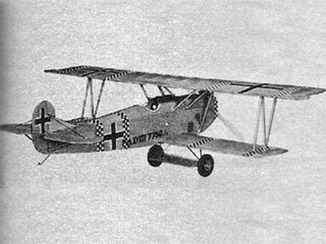 Fokker D-VII (oz7444) from Sterling 1952