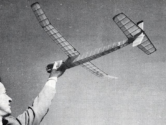 AMAzer (oz7447) by Woody Blanchard from Model Airplane News 1953