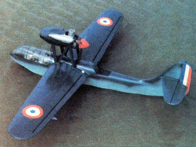 Breguet BRE 790 Nautilus - completed model photo