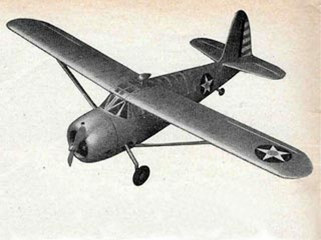 Curtiss Owl (oz7459) by J Bridgewood from Model Aircraft 1953