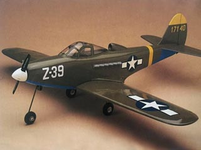 P-39 Airacobra (oz7467) by Bob McVickar from Global 1990