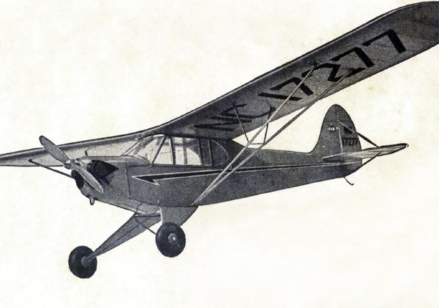 Piper Cub J3 (oz7469) by Paul Karnow from Megow 1939