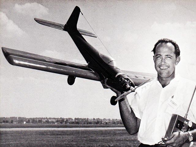 Kwik Fli II (oz7483) by Phil Kraft from RCMplans 1965