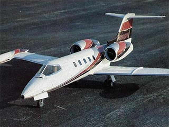 Learjet 35A (oz7484) by Mark Frankel from RCMplans 1989