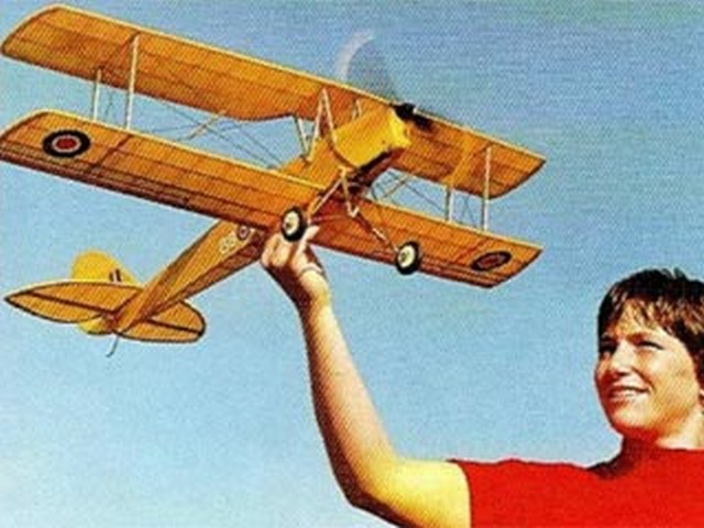 Tiger Moth (oz7492) by Richard Adams, David Mitchell from RCMplans 2003