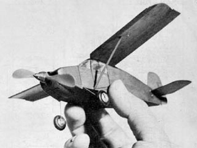 Wittman Tailwind (oz7495) by Walt Mooney from Model Airplane News 1962