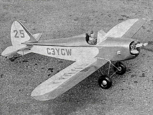 Fly Baby (oz7511) by Gordon Whitehead from Radio Modeler 1974