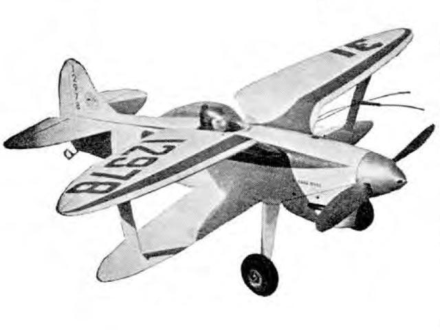 Able Gull (oz7531) by Granger Williams from Aeromodeller 1963