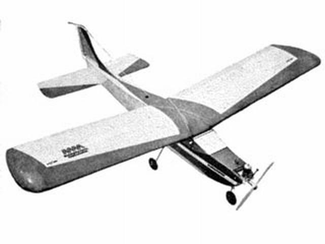 Schoolmaster (oz7534) by Ken Willard from Aeromodeller 1965
