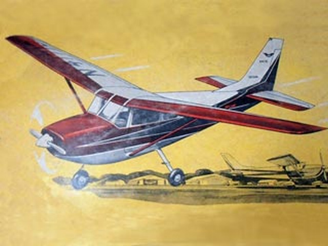 Cessna Skylane (oz7555) from Veron 1962