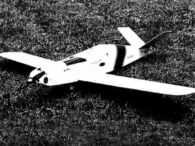 Monnett Moni (oz7595) by Bertil Klintbom from Radio Control Scale Aircraft 1987