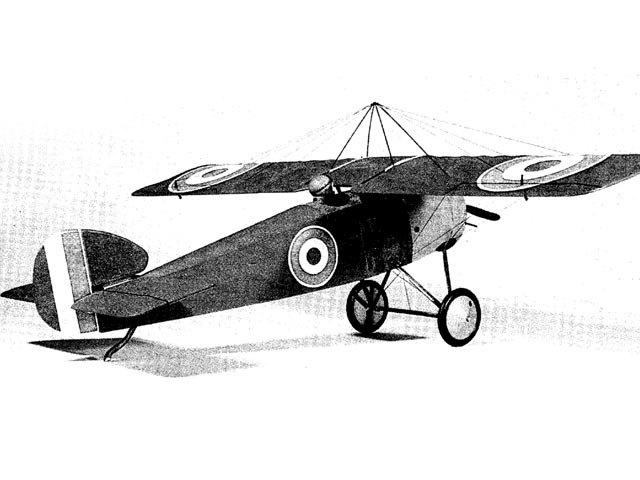 Sopwith Scooter (oz7603) by Bob Wright from Radio Control Scale Aircraft 1988