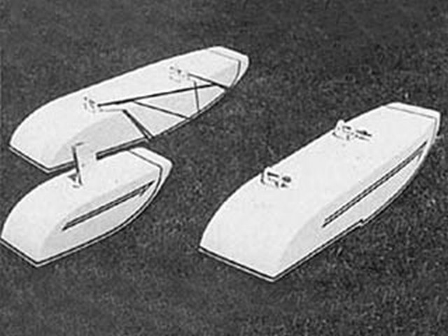 Antique and Old Timer Floats (oz7619) by Paul Denson from RCMplans 1975