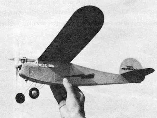 CO2 Powerhouse (oz7643) by Al Lidberg from Model Airplane News 1978