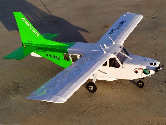 Gippsland Aeronautics GA-8 Airvan (oz7653) by Derek Buckmaster 1999
