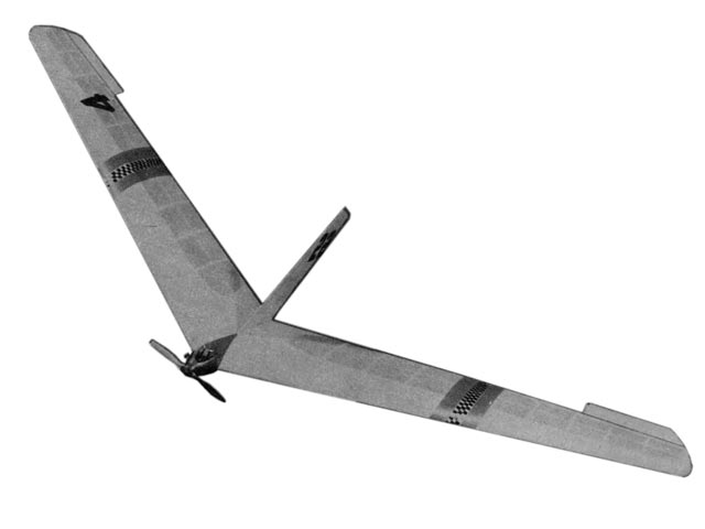 Flying Wing (oz7654) by Unknown from Air Trails 1951