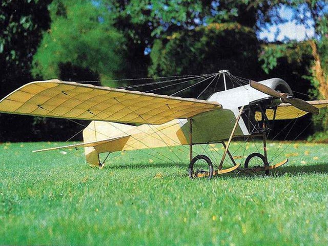Blackburn Monoplane (oz7659) by David Boddington from Radio Control Scale Aircraft 1987