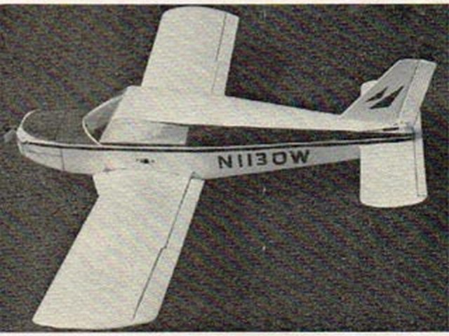 Piper Cherokee (oz7663) by Jack Headley from RCME 1969