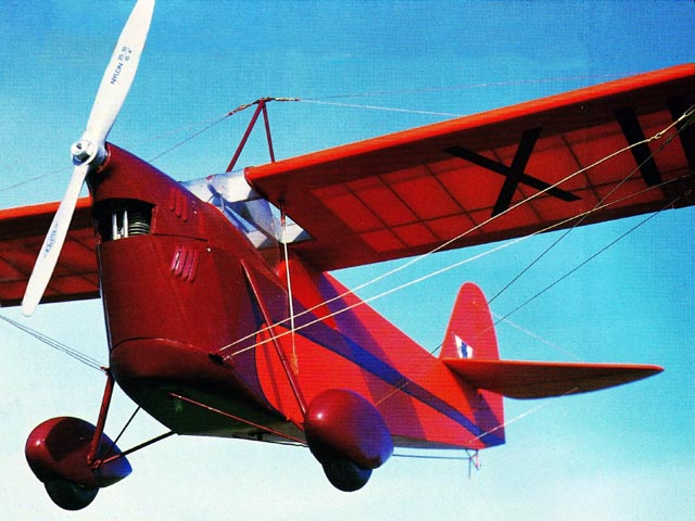Aeronca C-1 Scout (oz7681) by Phillip Kent from Model Airplane News 1996