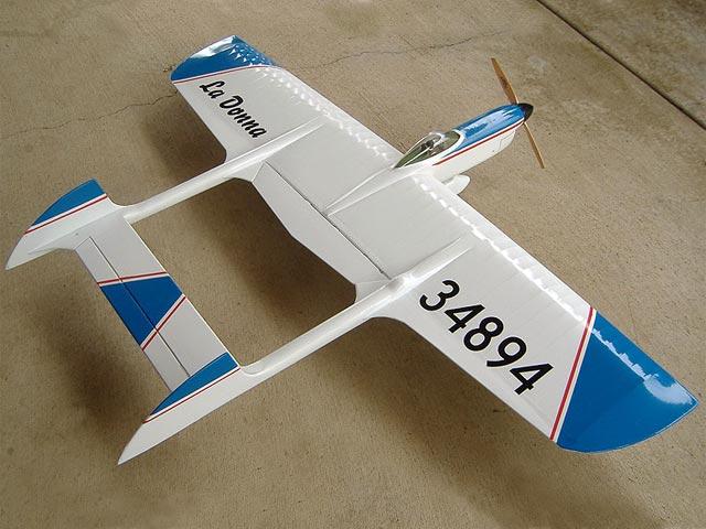 La Donna (oz7702) by Jack Sheeks from Flying Models 1964