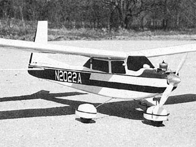 Aero Commander 100 (oz7705) by R Jess Krieser from RCMplans 1968
