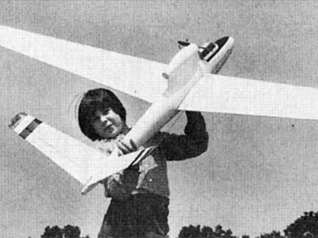 Fouga Cyclone (oz7719) by Nick Ziroli from American Aircraft Modeler 1969