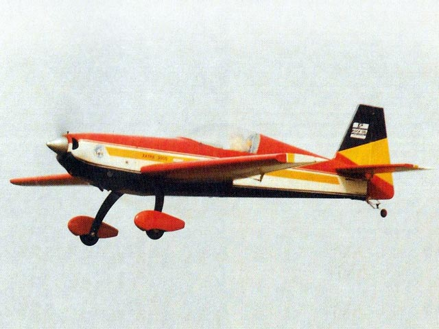 Extra 300s (oz7722) by David Boddington from Radio Control Scale Aircraft 1995