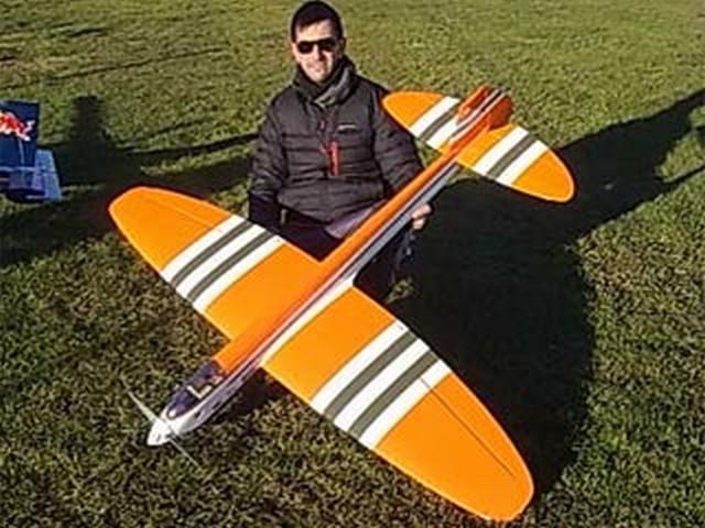 Novi Arrow - completed model photo