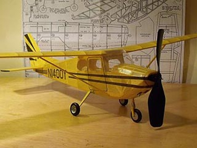 Cessna Skyhawk - completed model photo