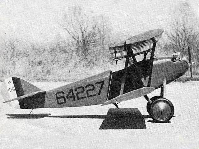 Sperry Messenger (oz7745) by R Jess Krieser from American Aircraft Modeler 1968