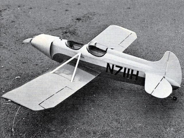 Spezio Sport DAL-1 (oz7746) by Clarence Haught from American Aircraft Modeler 1973