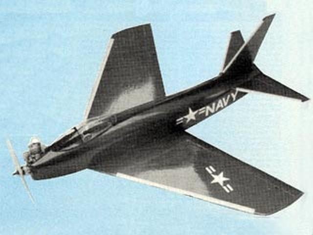 North American Fury (oz7752) by John Rutter from Radio Modeller 1986