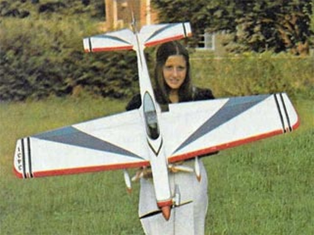 Lews Akromaster (oz7771) by Lew McFarland from American Aircraft Modeler 1974