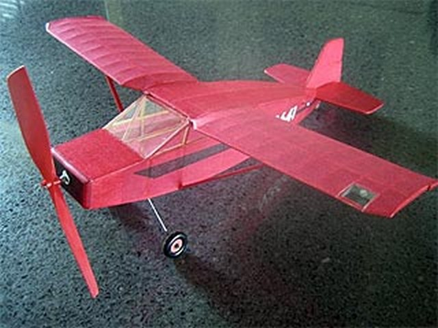 Nesmith Cougar (oz7799) by Clarence Mather from Sport Modeler 1975