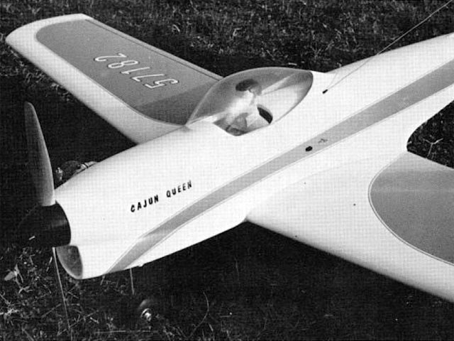 Cajun Queen (oz7813) by Lou Penrod from American Aircraft Modeler 1973