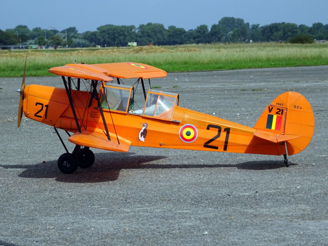 Stampe SV4 - completed model photo