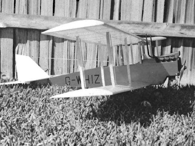 DH-6 - completed model photo