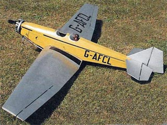 BAM Swallow II (oz7825) by Eric Robinson from Radio Control Scale Aircraft 1990