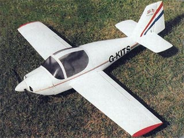 Europa XS (oz7830) by Ken Sheppard from Radio Control Scale Aircraft 1997