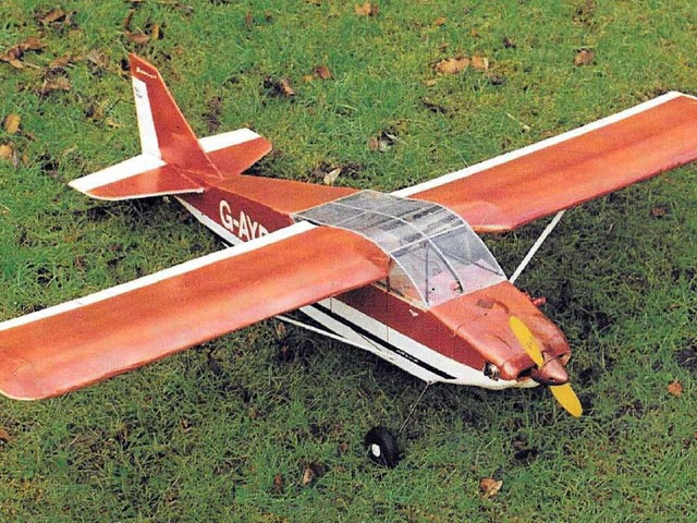 AJEP Wittman Tailwind (oz7831) by Peter Holland from Radio Control Scale Aircraft 1996