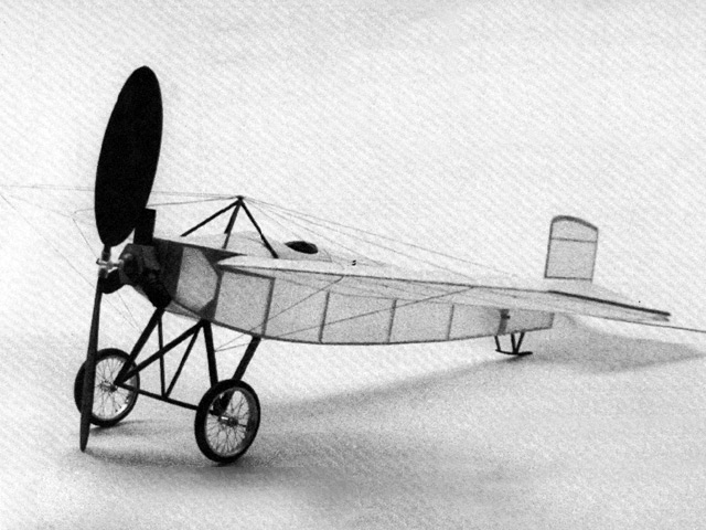 Caudron Type-N (oz7853) by Larry Kruse from Flying Models