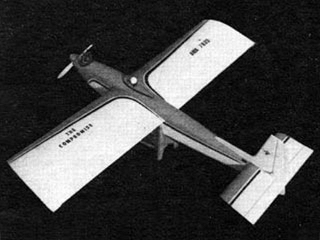 Compromise (oz7887) by Bud Atkinson from American Aircraft Modeler 1968