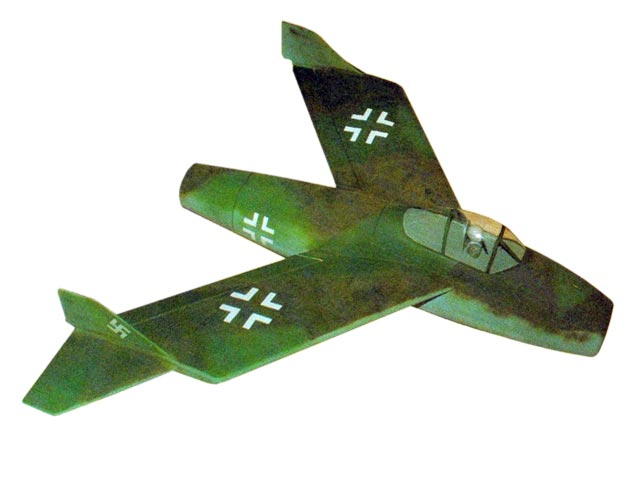 Blohm and Voss P 212 - completed model photo