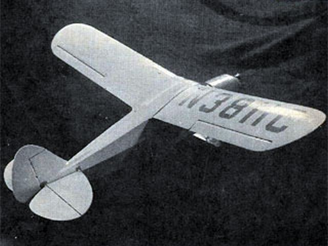 Piper PA-12 Super Cruiser (oz7919) by Bill Dunwoody from Sky-Scrapers 1964
