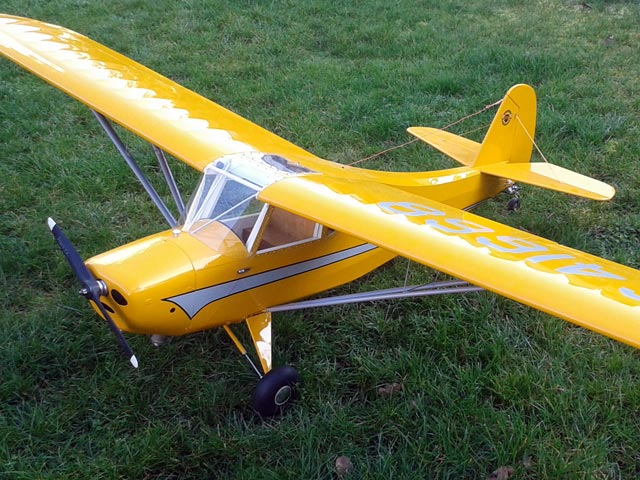 Aeronca Champ (oz7927) by Bud Nosen from Bud Nosen Models