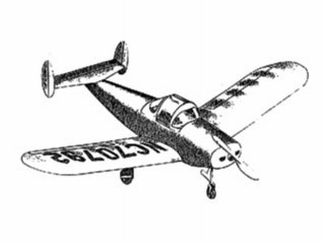 Ercoupe (oz7929) from Whitman 1948