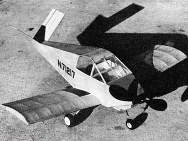 Davis DA-2A (oz7978) by Lloyd Hunt from Model Airplane News 1972